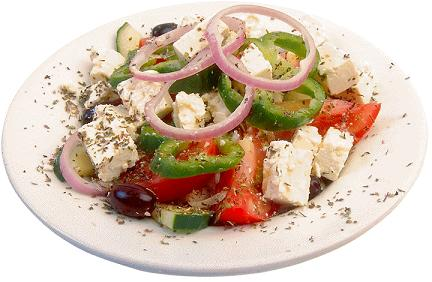 Village Salad (Greek Salad)